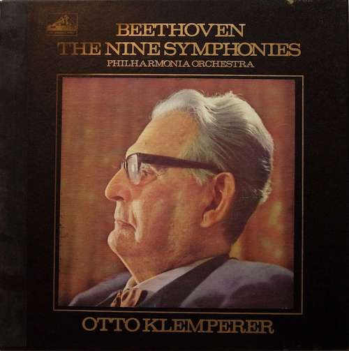 The grand daddy of classical box sets. The master Beethoven interpreter recorded in great stereo sound by EMI (Klemperer also recorded an earlier set in mono). Slow tempos, intense and gorgeously played are the hallmarks of this landmark set. If I could only own one vinyl box set, this would be it.