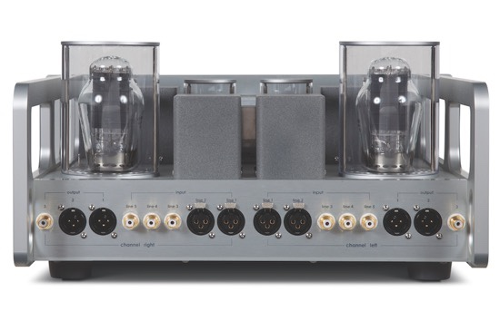 Allnic Audio L-7000 Preamplifier rear panel.