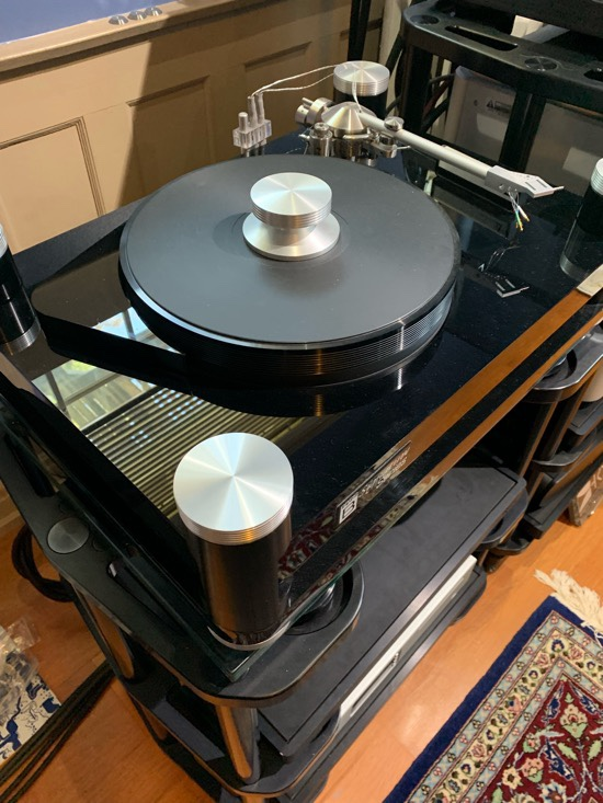 No vinyl playing, but the late AJ Conti is gone but not forgotten—Basis Audio