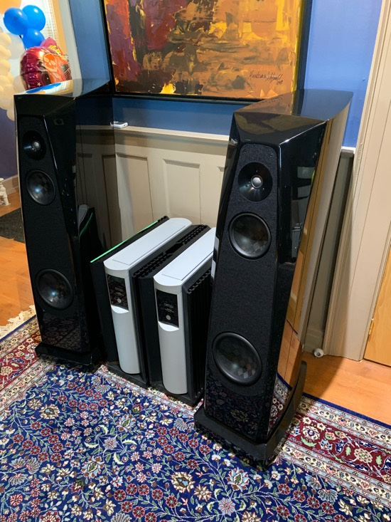 Rockport Technologies' Atria II Loudspeakers
