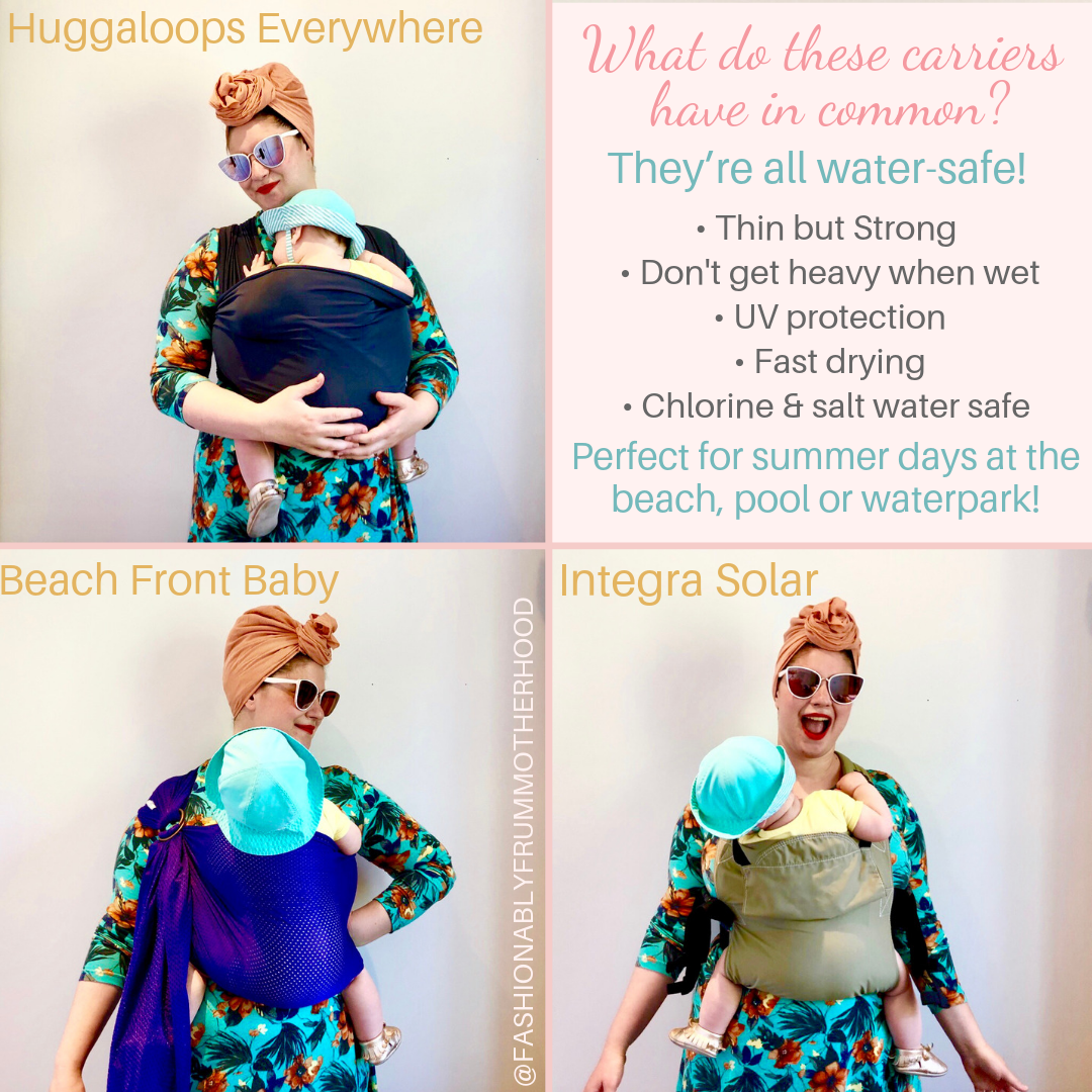 Summer Babywearing Best Water Baby Carriers Toronto