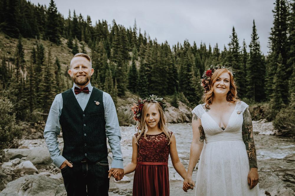 Erin + Curtis | Rocky Mountain Elopement