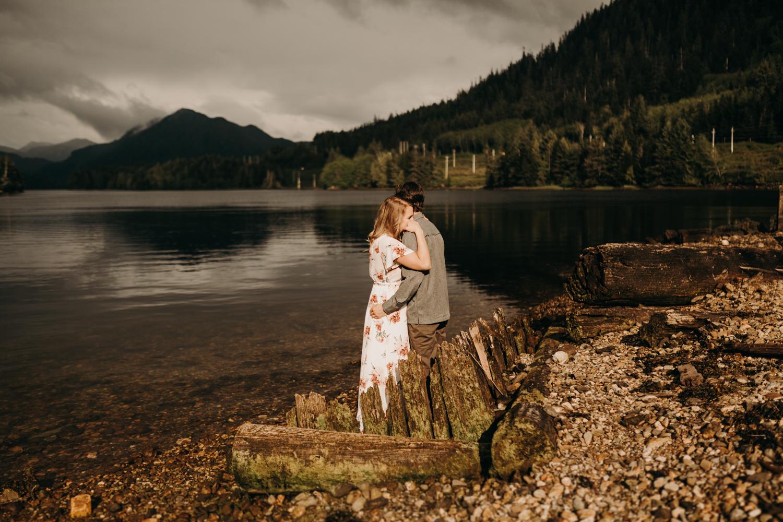 Tessa + Tyler   Northern B.C. Engagement