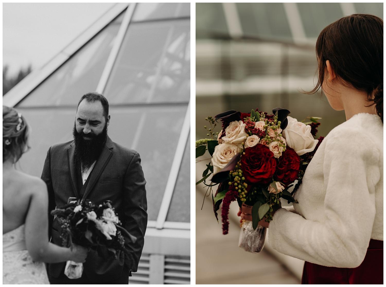 Briah + Marty | Edmonton Muttart Wedding