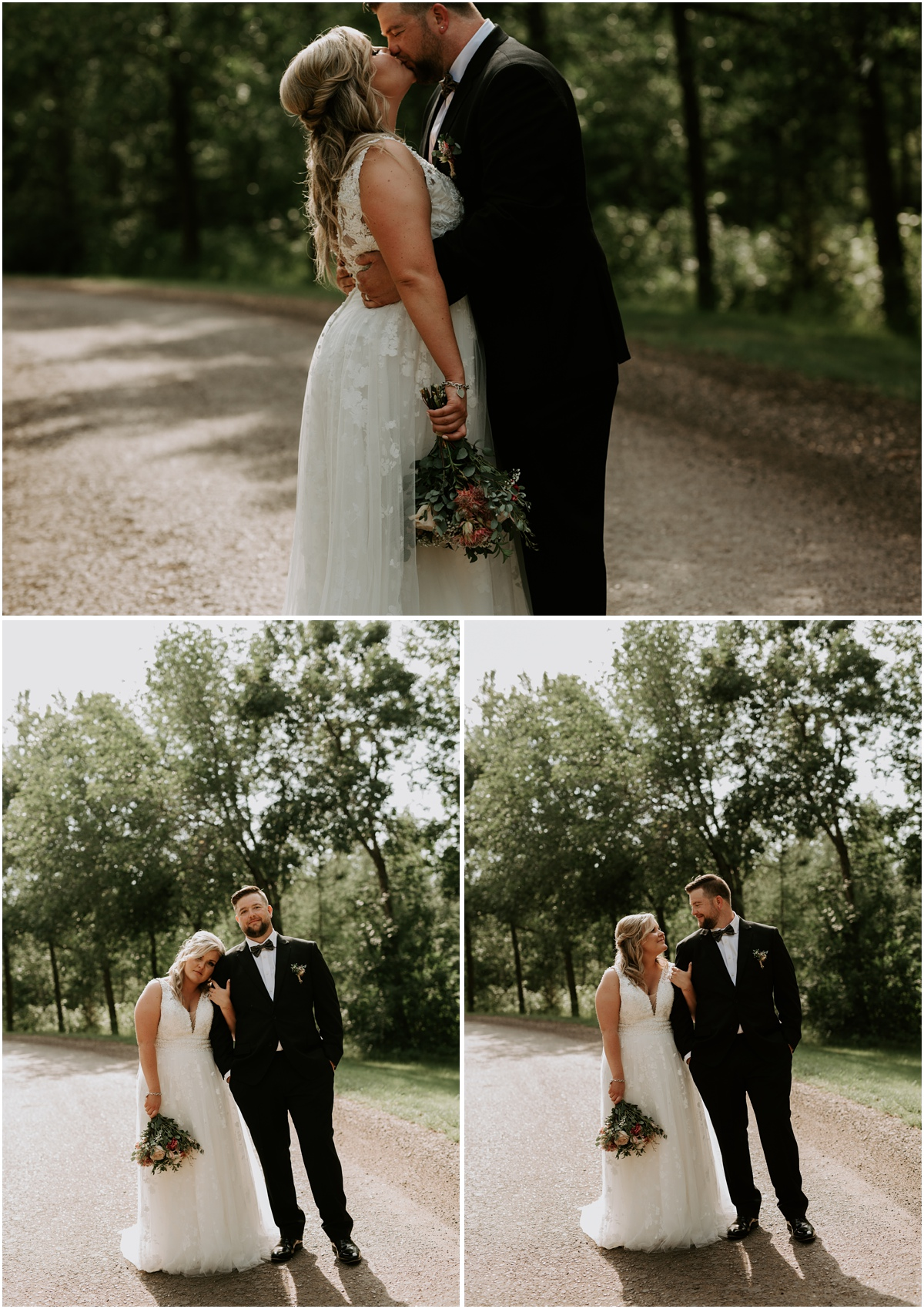 Tayler + Lamar | Sherwood Park Backyard Wedding