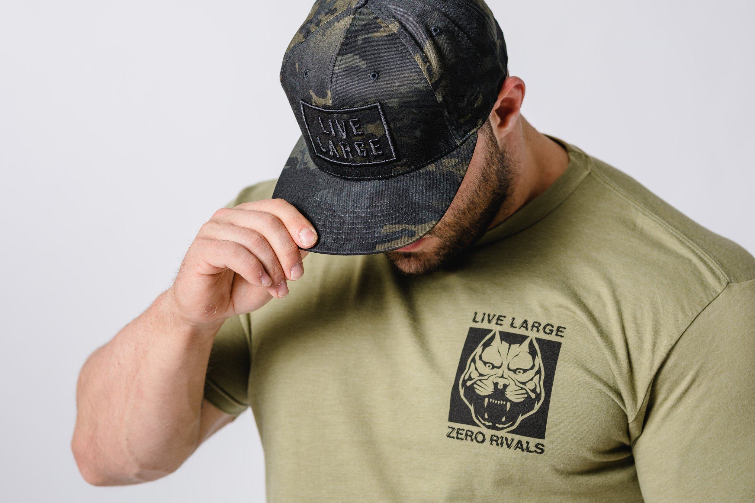 chuck army tee and hat.jpg