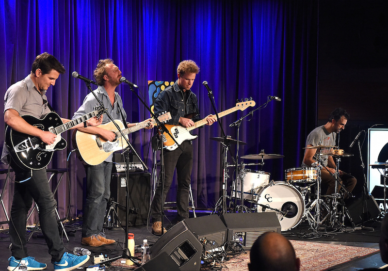 Guster formed in 1991 at Tufts University. Its drummer, Brian Rosenworcel, joins the R&R poodcast. (Getty Images)