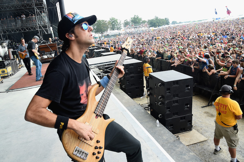 Umphrey's McGee bassist Ryan Stasik joins the pod. Seen above at Bonnaroo in 2014. (Getty Images)