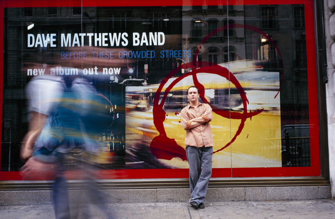 Dave Matthews in 1998. (Getty Images)