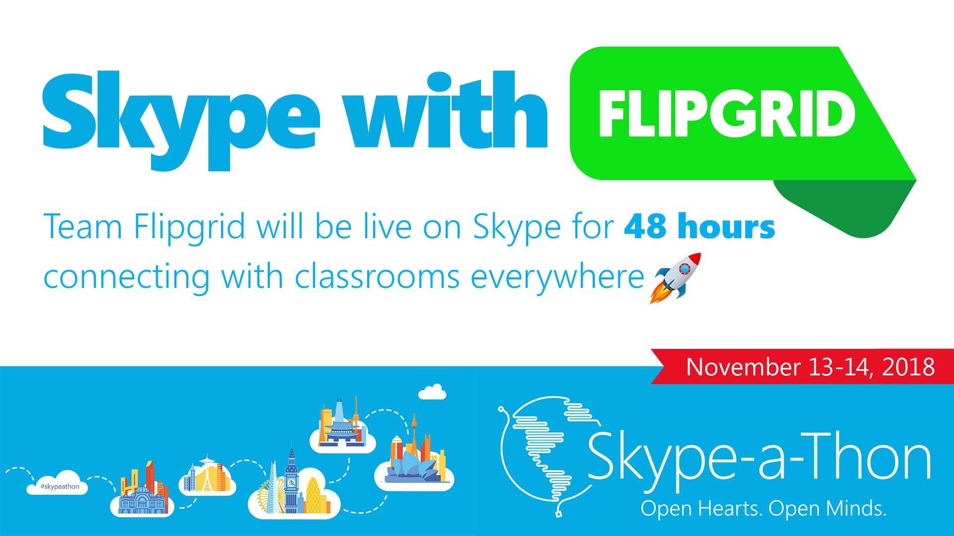FlipgridSkypeAThon