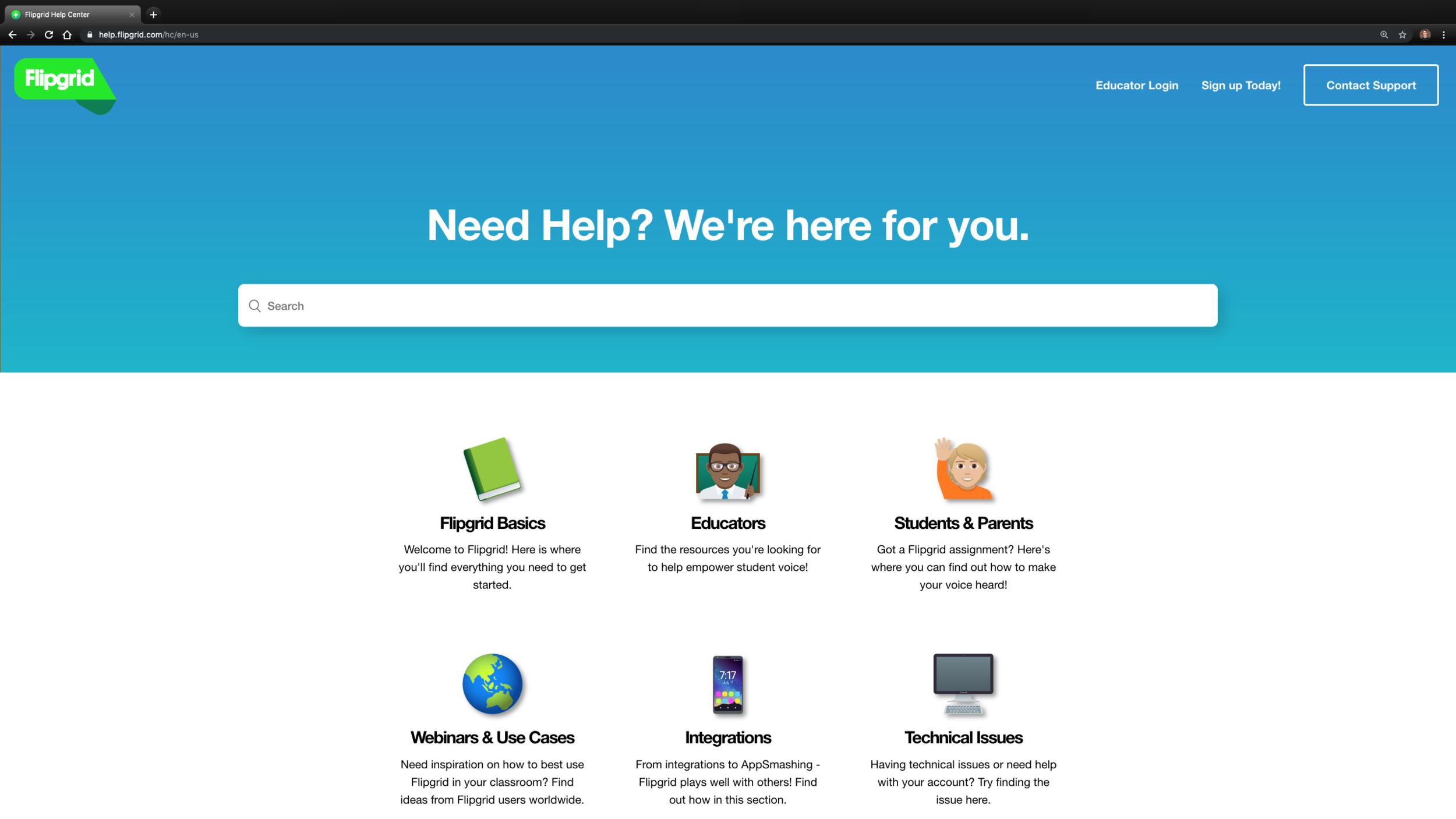 Flipgrid Help Center