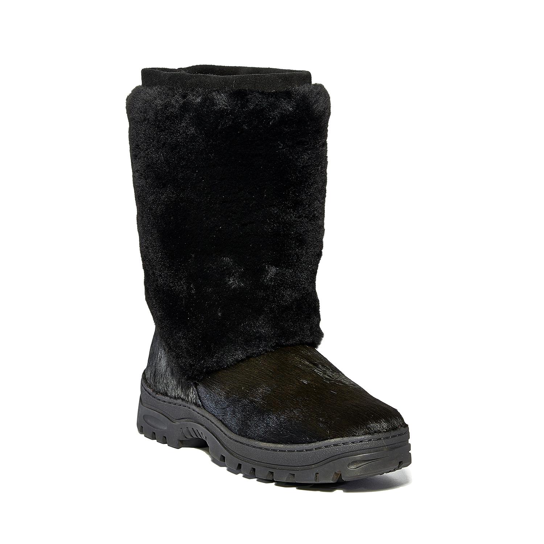 luxury fur boots