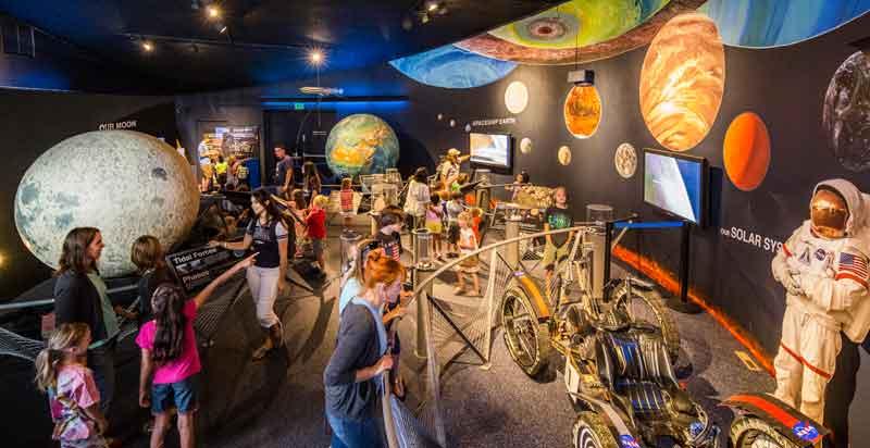 Planetarium Exhibit Hall