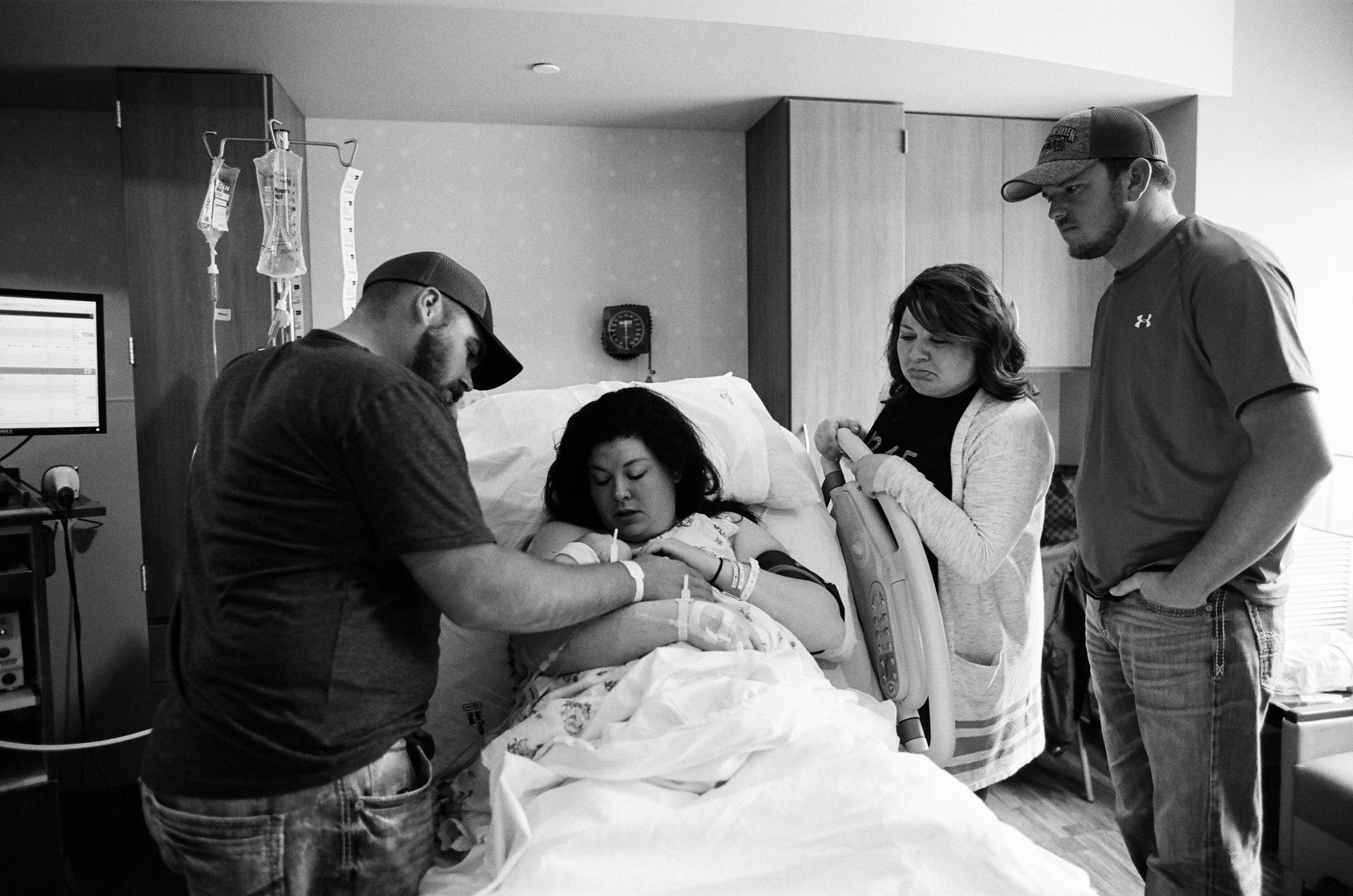 film birth photography