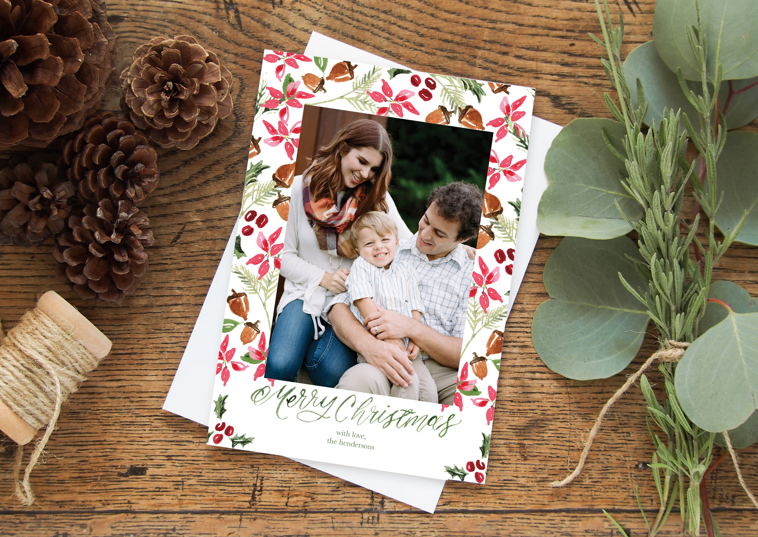 custom christmas cards mini sessions murfreesboro