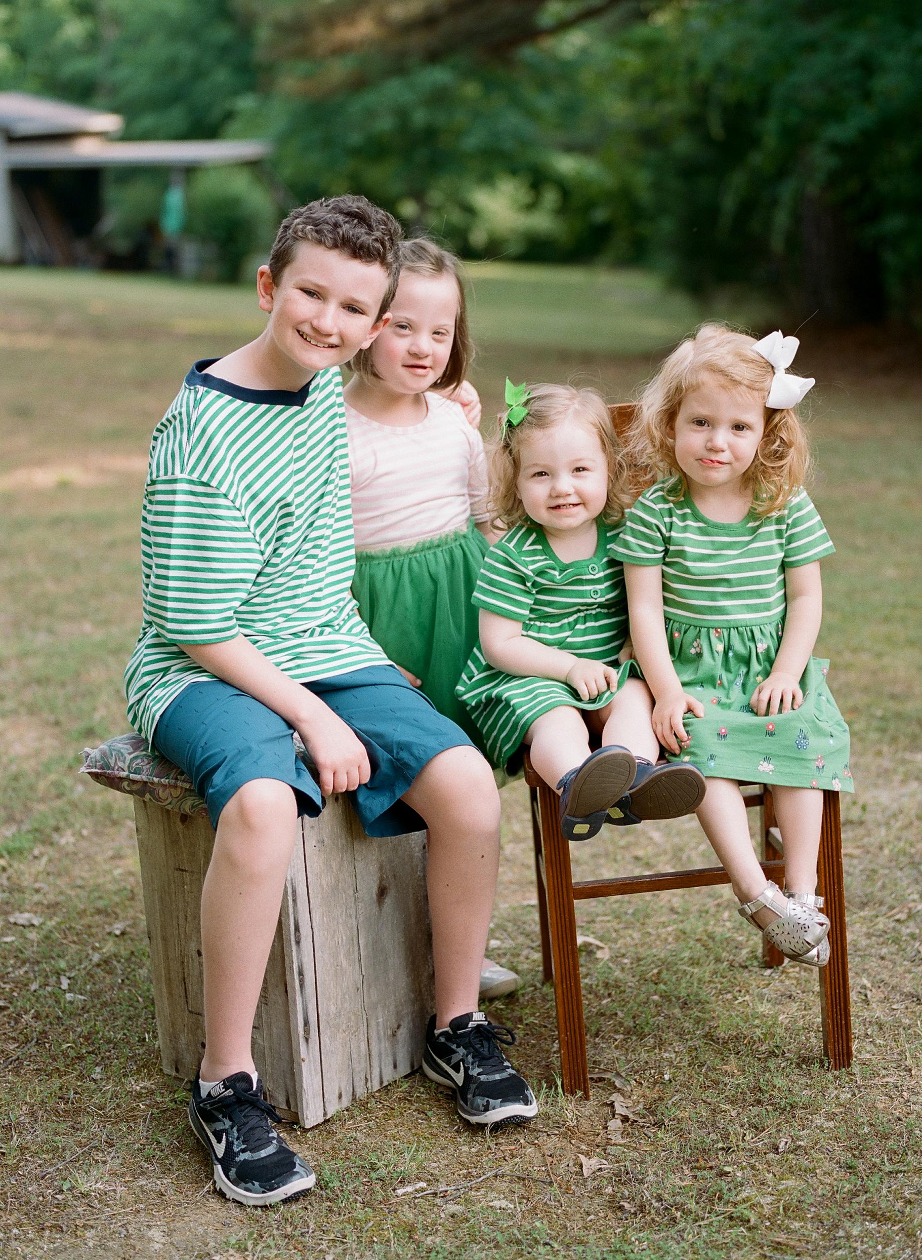 Cousin family portraits