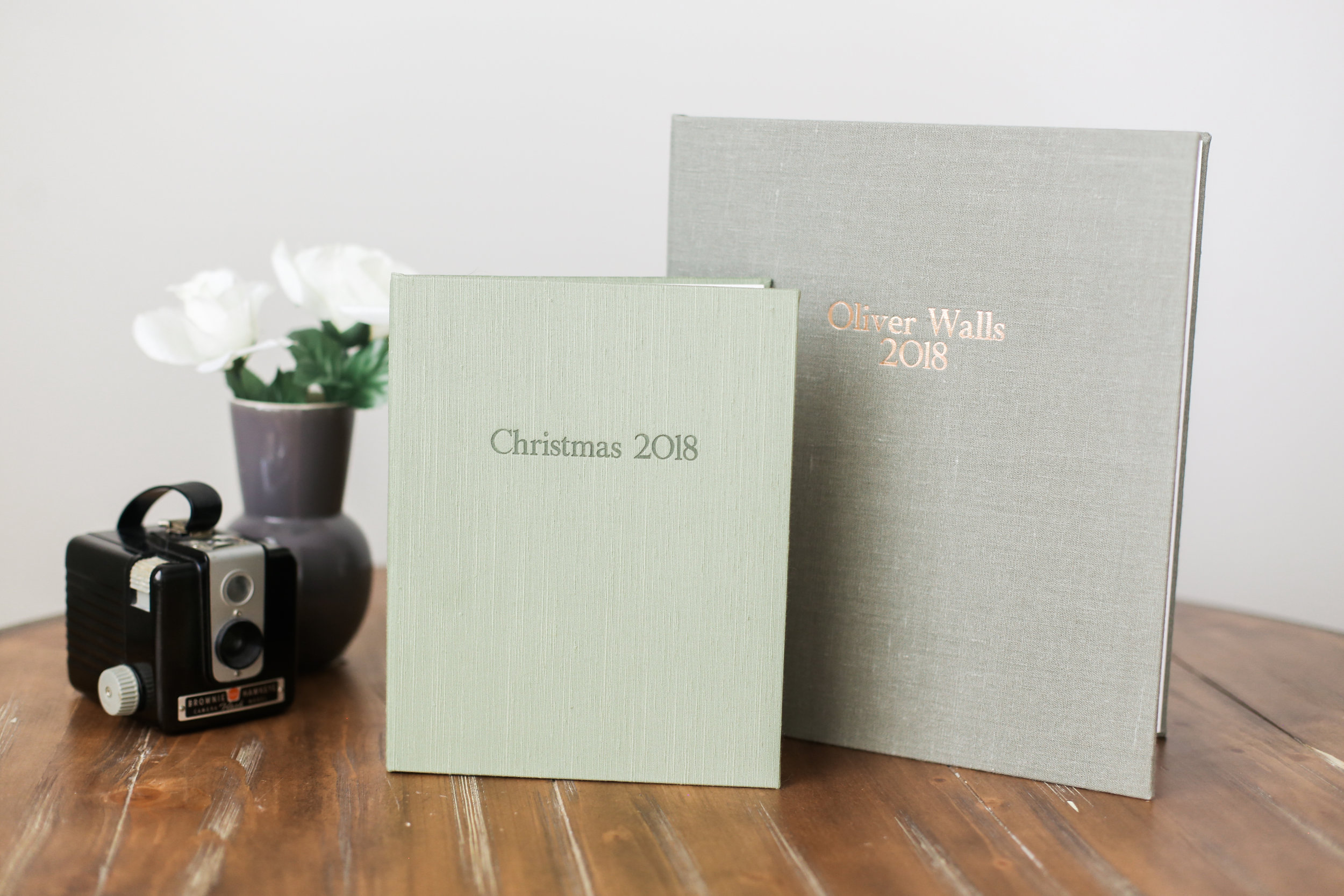 custom cover for matted folio albums
