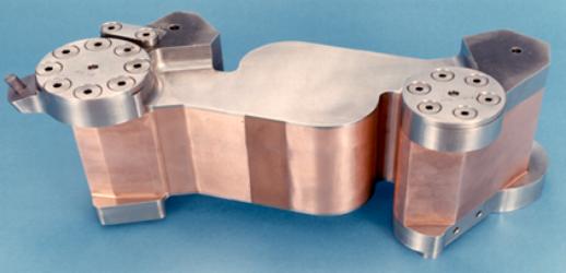 Space Shuttle Main Engine External Heat Exchanger