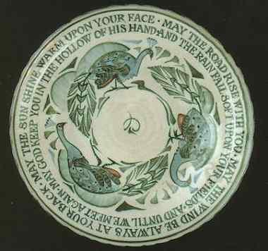 8. Gaelic Blessing Platter