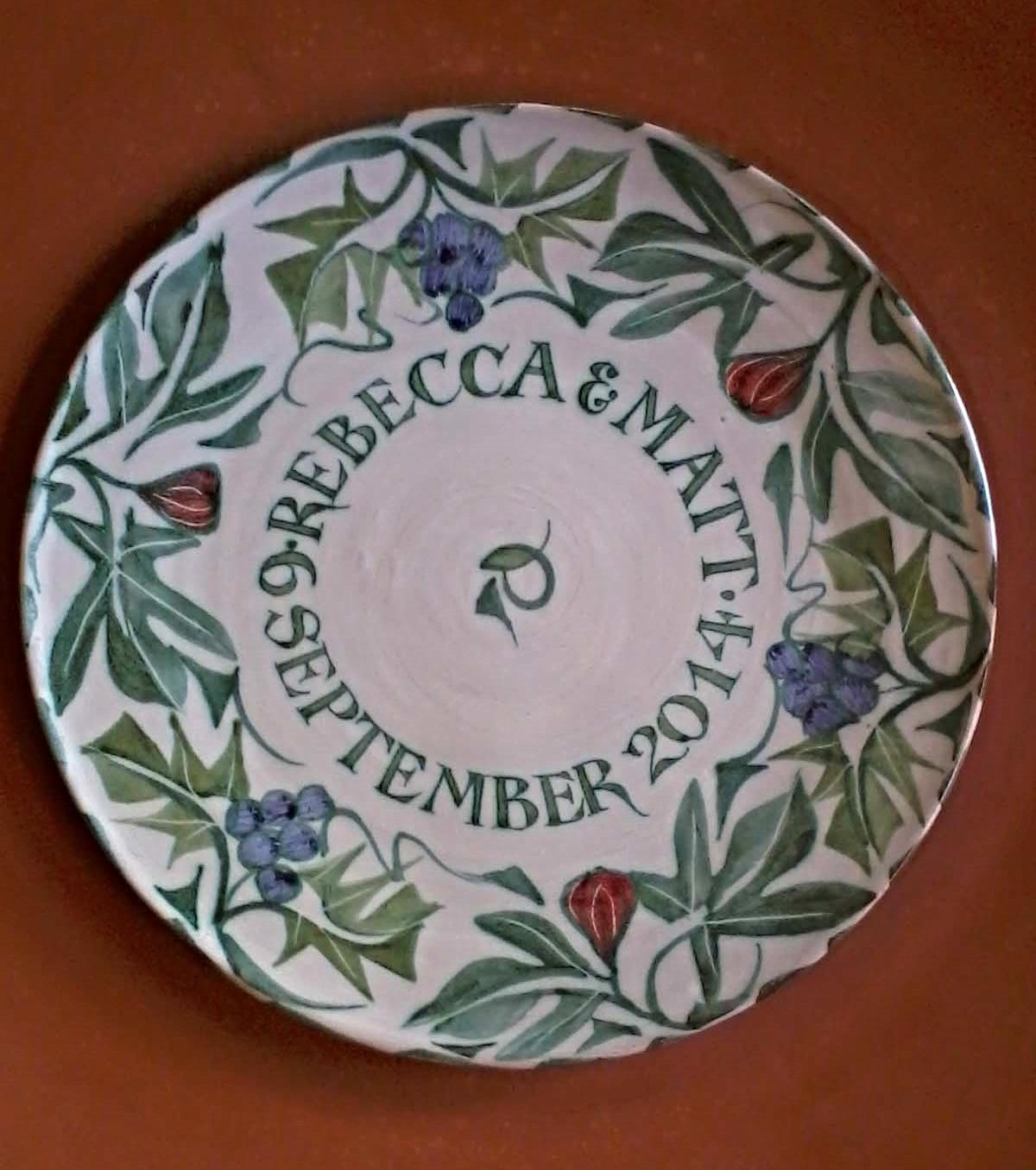 14. Eleven inch plate