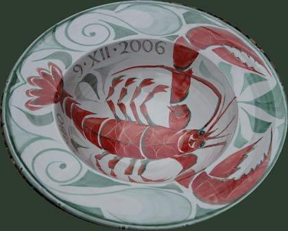 4. Sixteen inch Tondino bowl