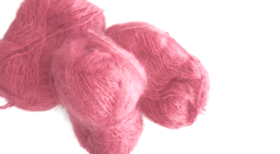 MOHAIR - New this season. Feminine and airy. Warm and Light. A miracle! Our Mohair comes from South Africa, and is made from Angora baby or kids Goats, cultivated at 6 to 12 months when the coat is at its softest. Kid Mohair is versatile: warm in winter, cool in summer.Mohair breathes, absorbing and releasing atmospheric moisture and controlling its own 'climate' to ensure optimal comfort. Products made from this yarn have an innate elasticity, which ensures they hold their shape.