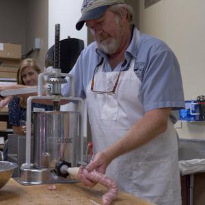 Ken Jolly Making Sausage
