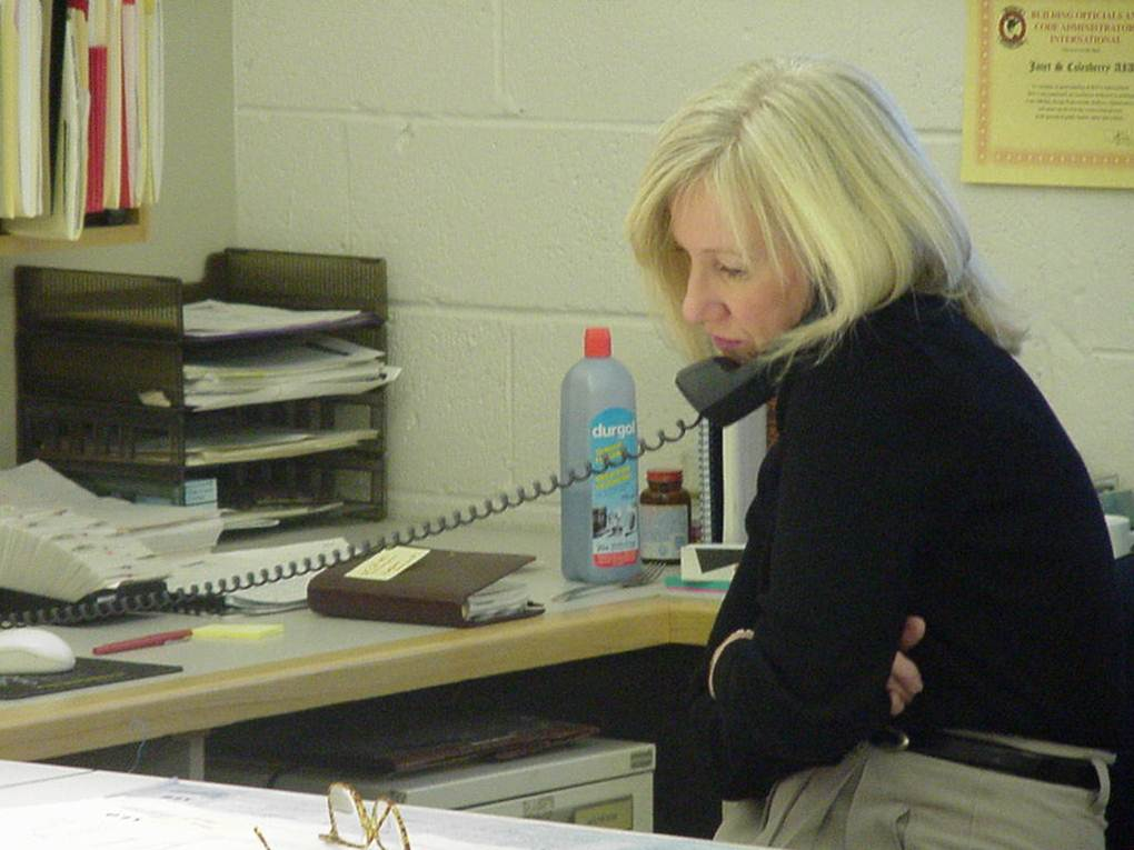 Janet at work