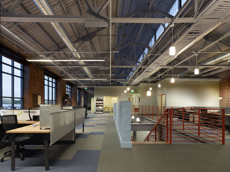 Industrial and Modern Office Space