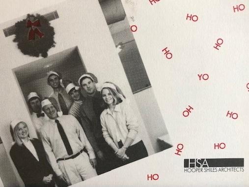 Holiday card circa 2000