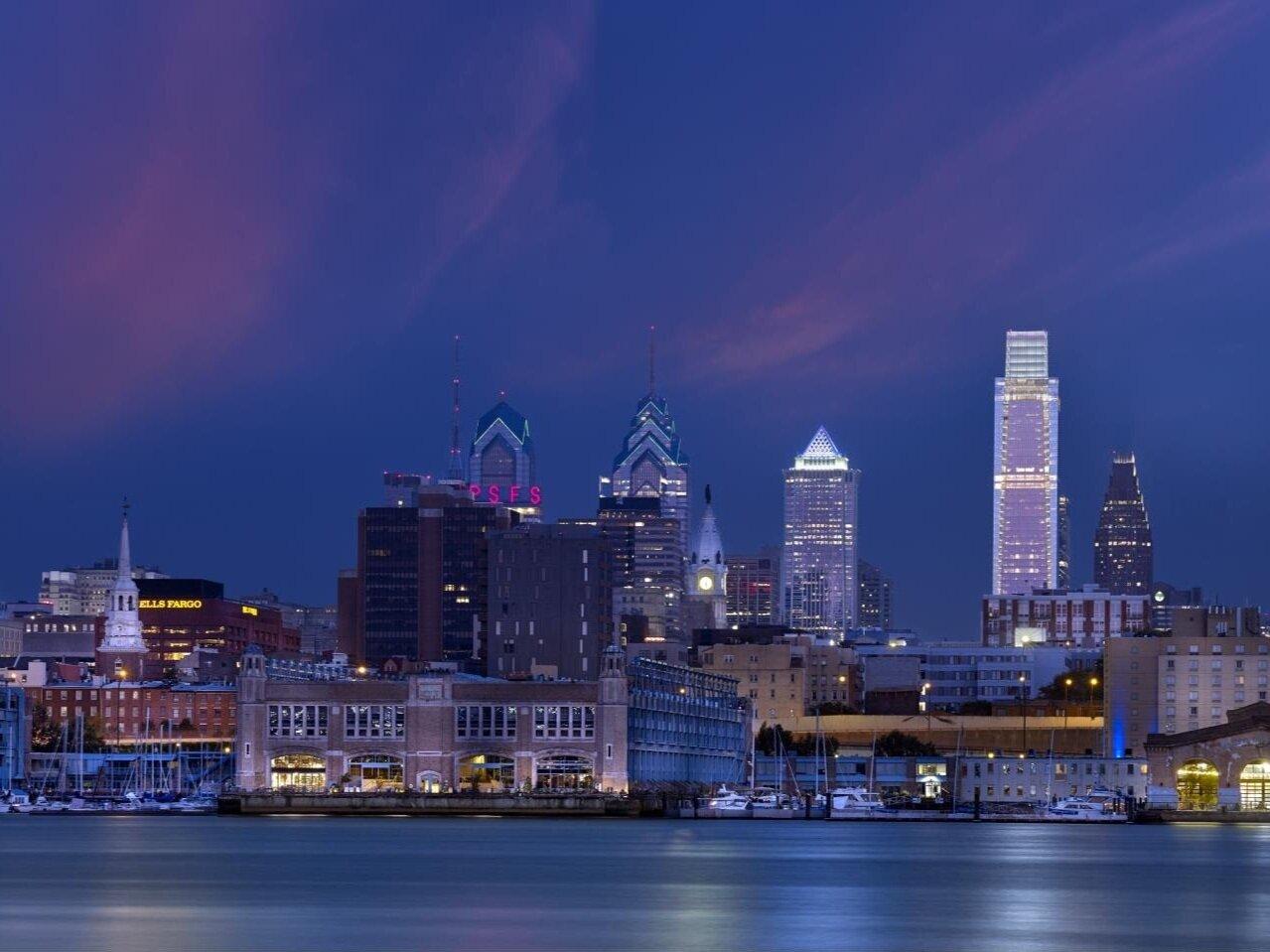 Historic Philadelphia Waterfront