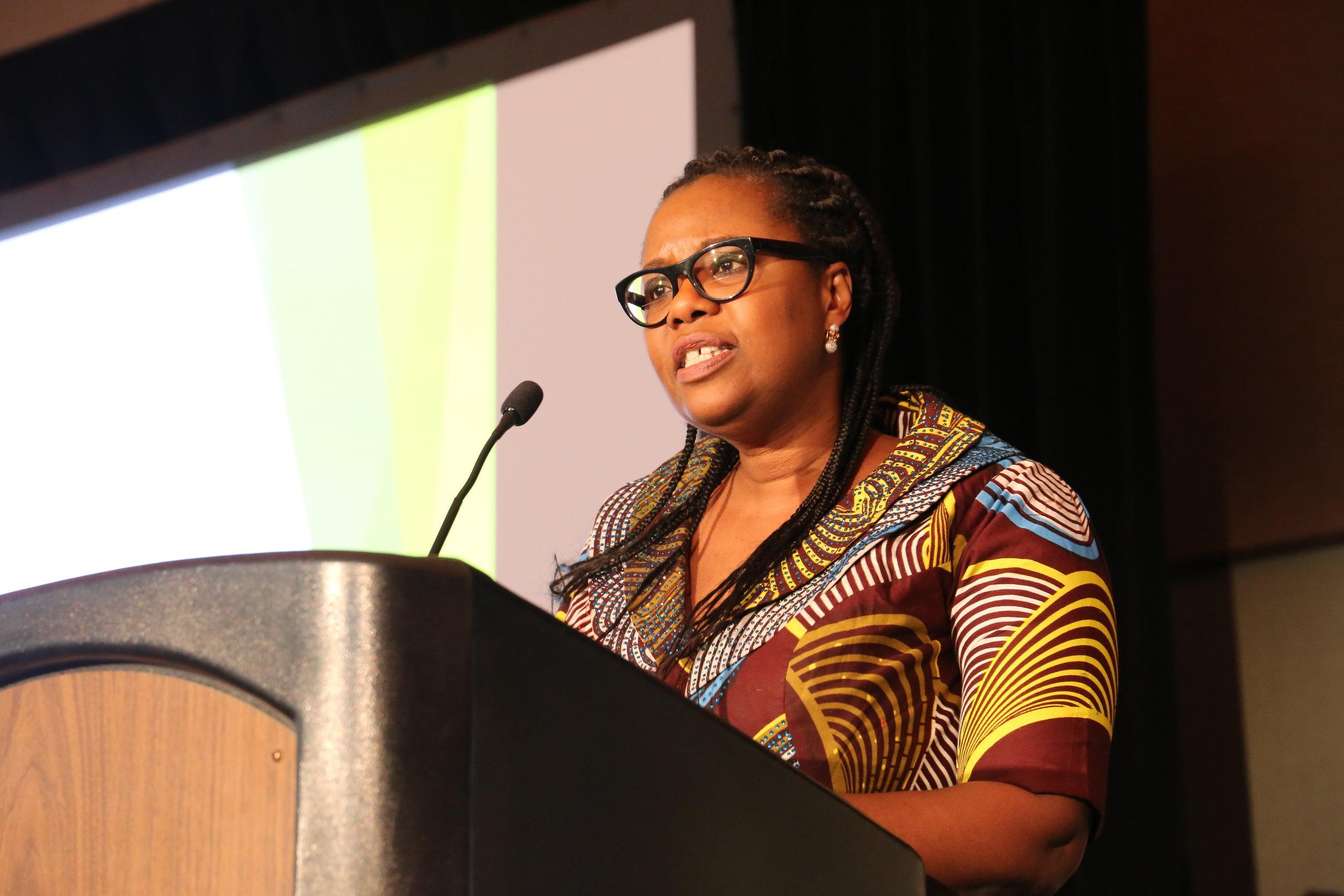 Keynote Speaker Dr. Adetutu Adetona of the Lansingburgh Family Practice in Troy, NY