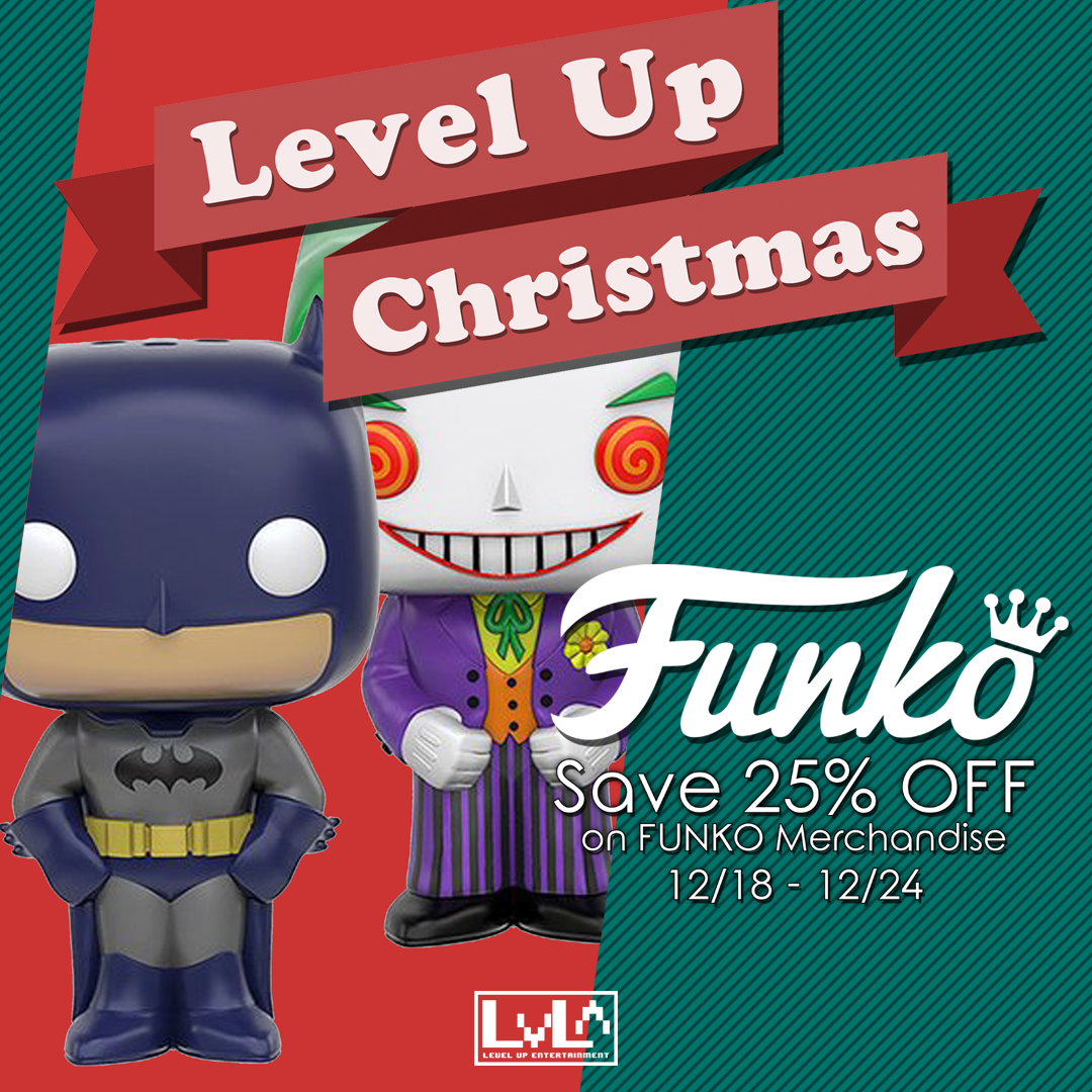 Save 25% Off Funko Items! Use discount code LUXMAS at checkout!