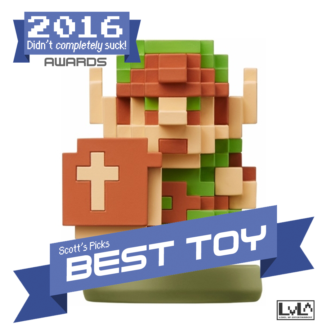 Best Toy - 8-Bit Link Amiibo
