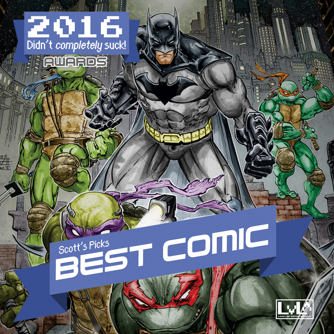 Best Comic - Batman/TMNT (DC & IDW)