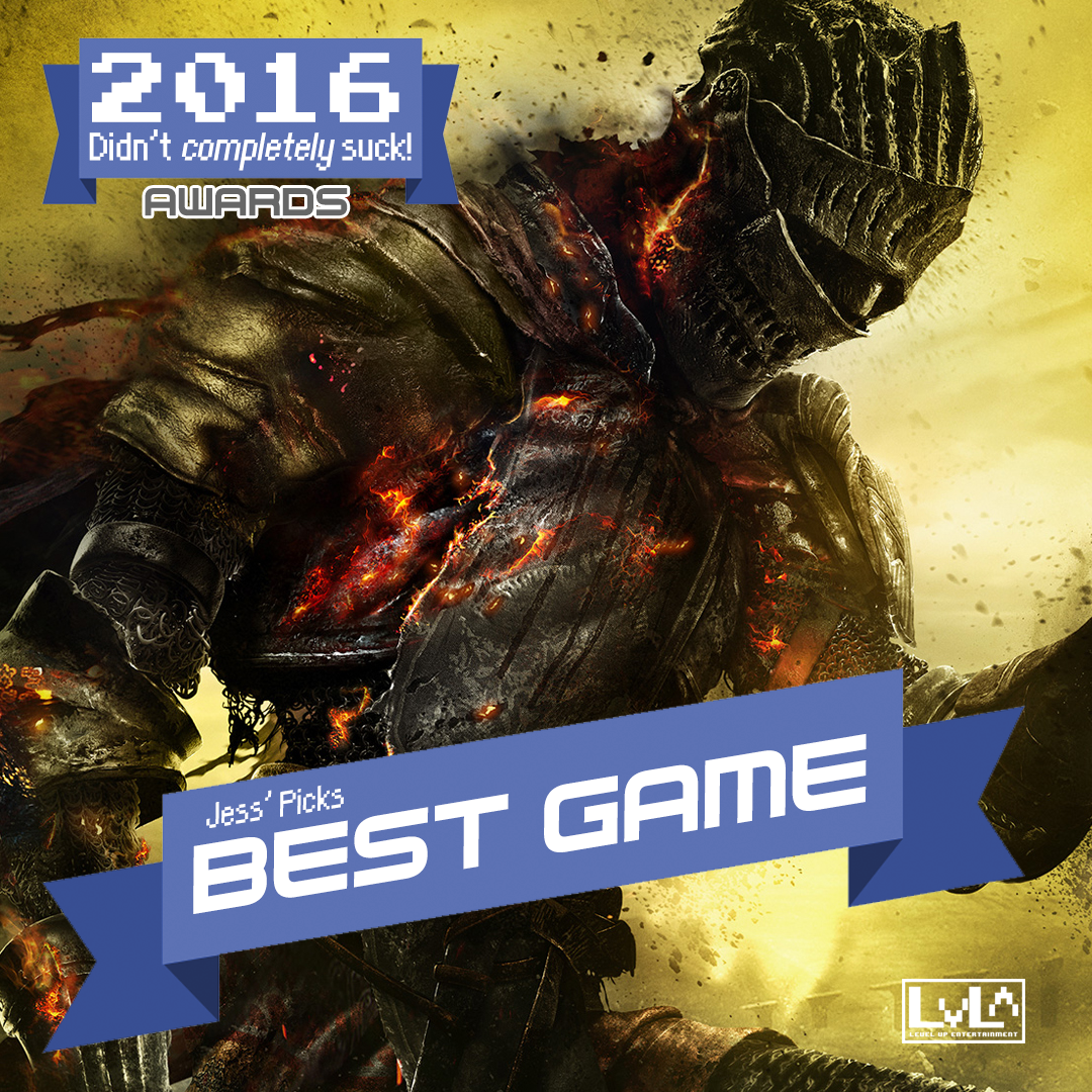 Best Game - Dark Souls 3 (XB1/PS4)