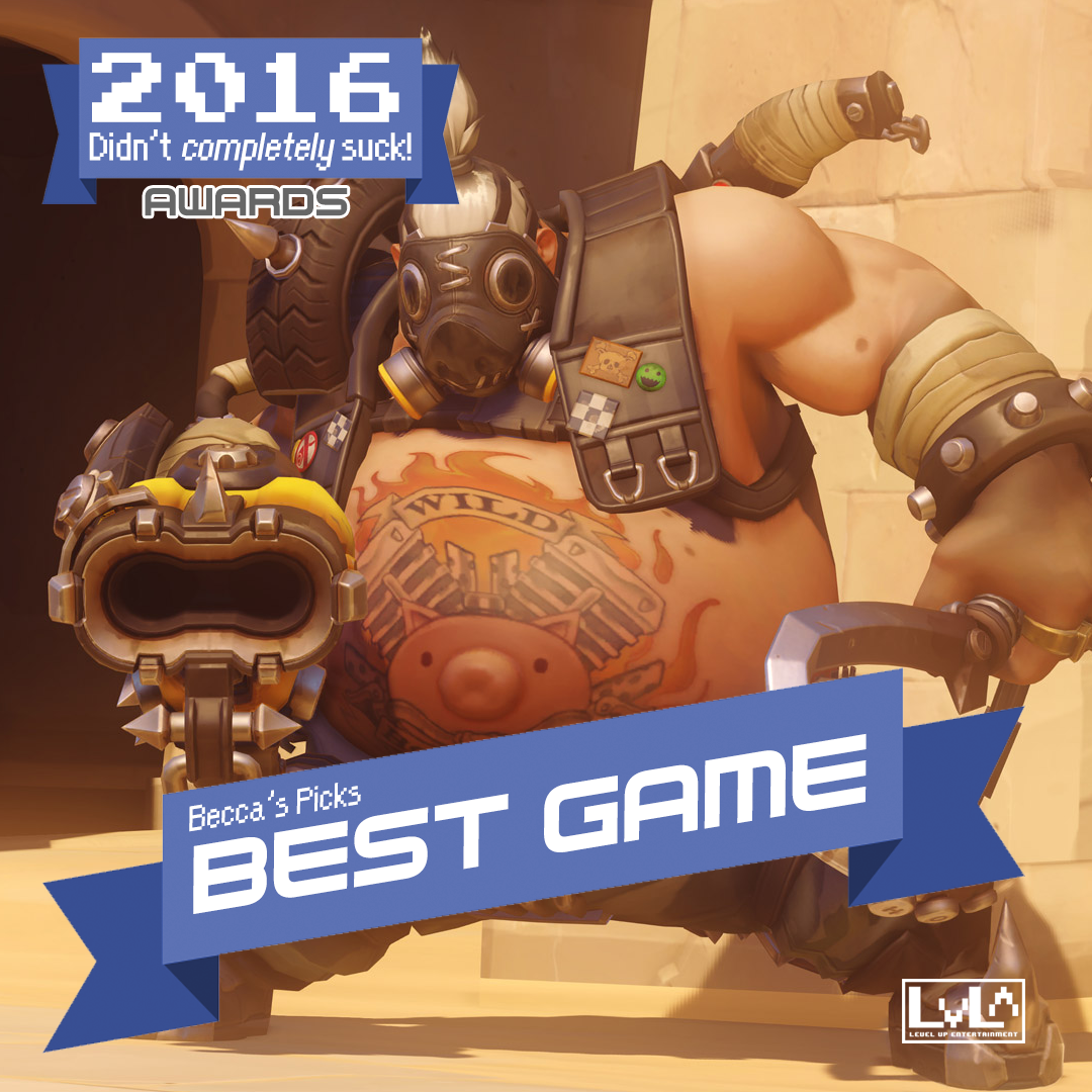Best Game - Overwatch (XB1/PS4)