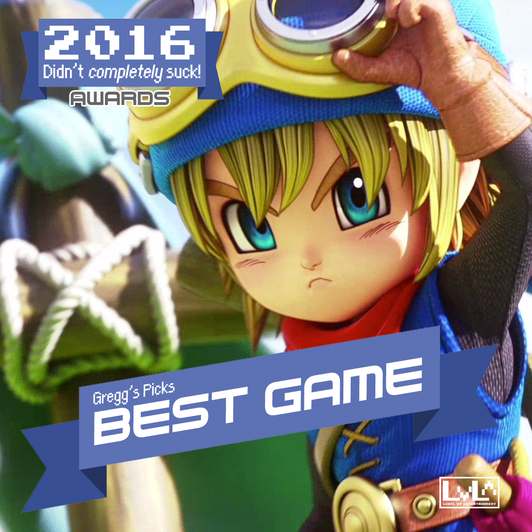 Best Game - Dragon Quest Builders (PS4)