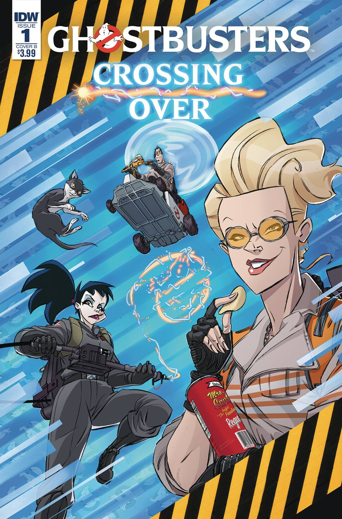 GHOSTBUSTERS CROSSING OVER #1
