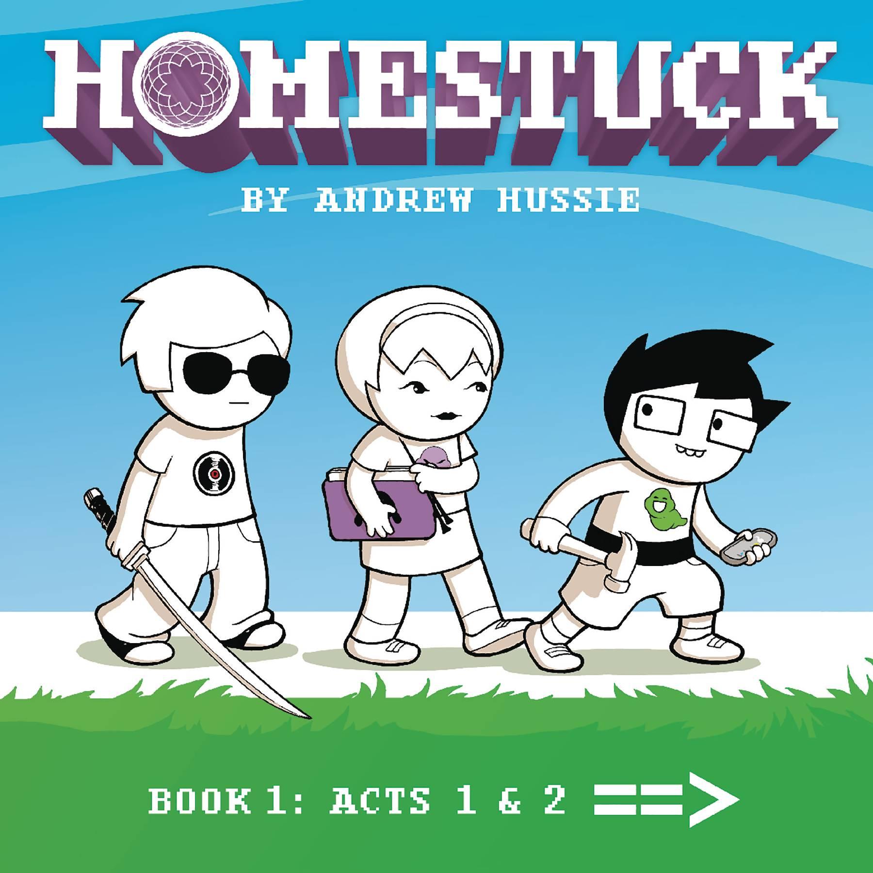 HOMESTUCK HC VOL 01 ACT 1 & 2