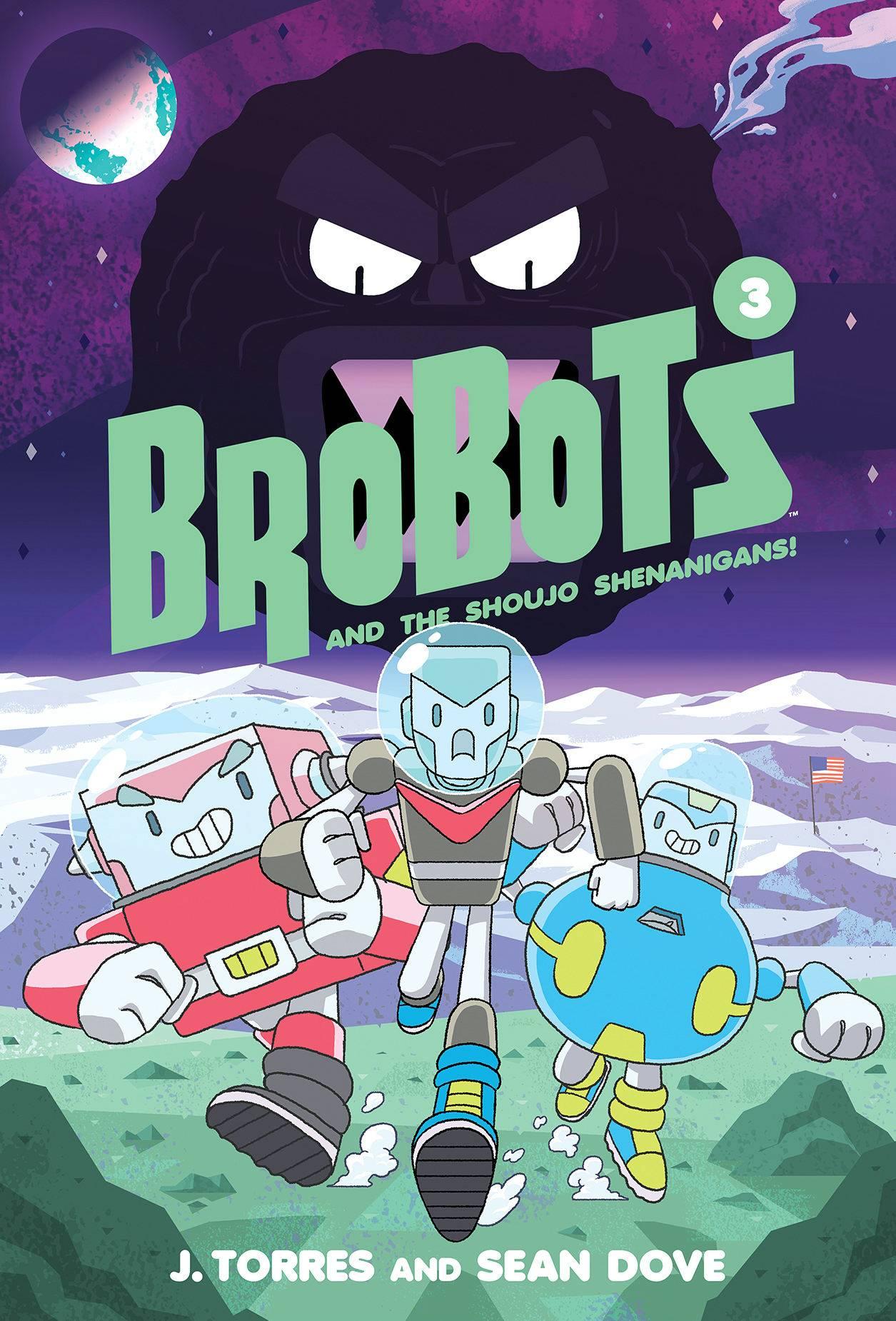 BROBOTS HC VOL 03 SHOUJO SHENANIGANS