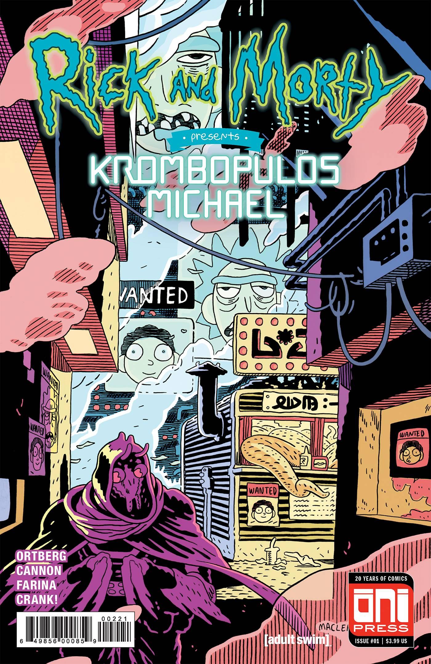 RICK & MORTY PRESENTS KROMBOPULOS MICHAEL #1