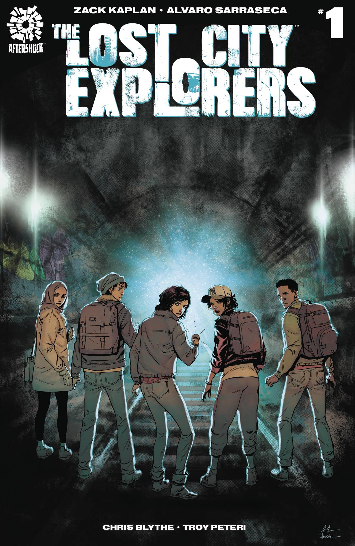 LOST CITY EXPLORERS #1