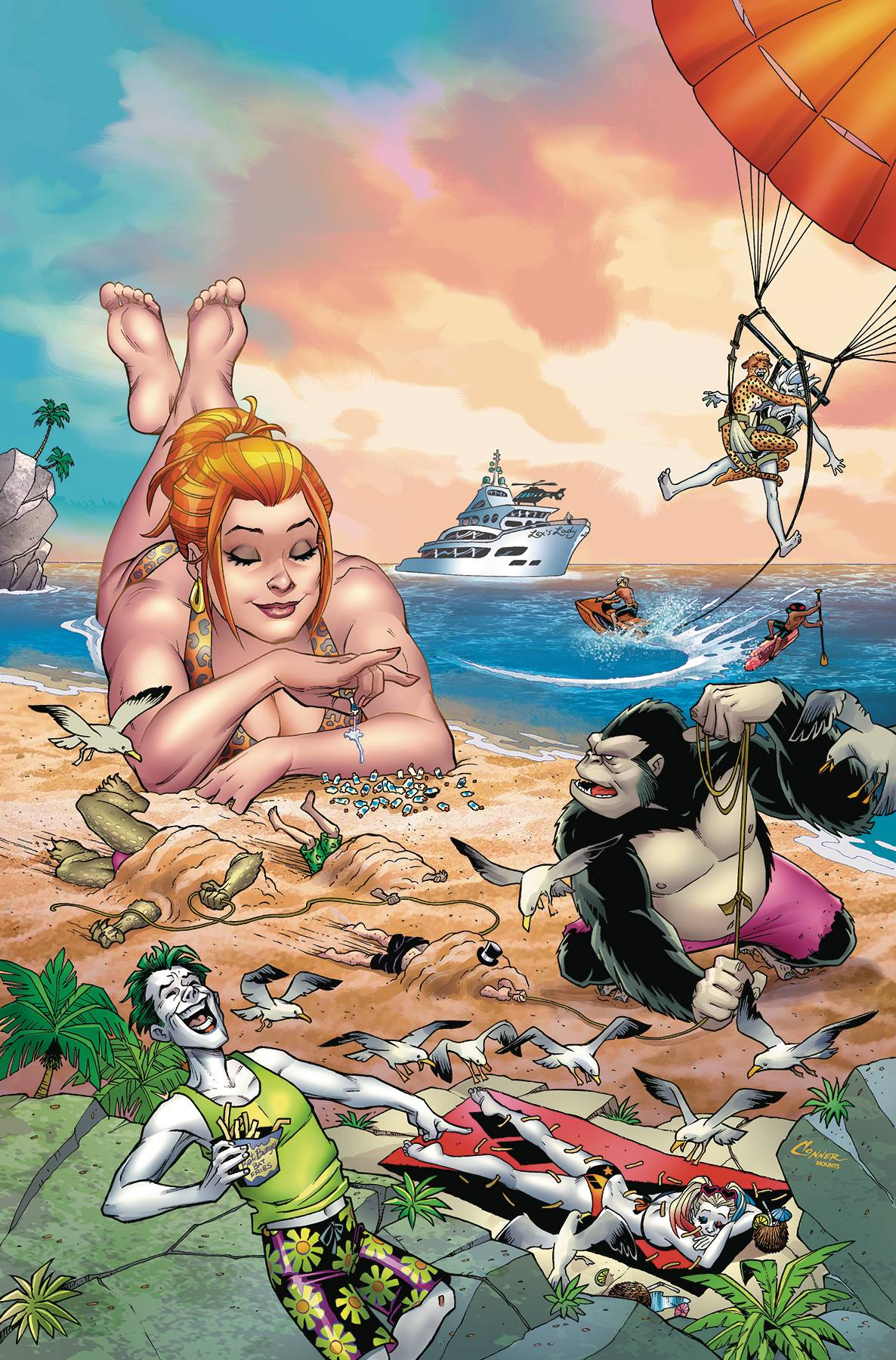 DC BEACH BLANKET BAD GUYS SPECIAL #1