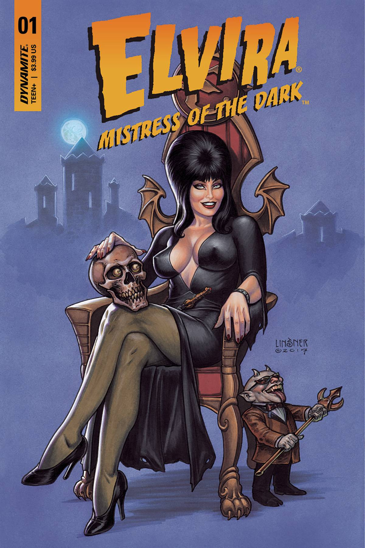 ELVIRA MISTRESS OF DARK #1