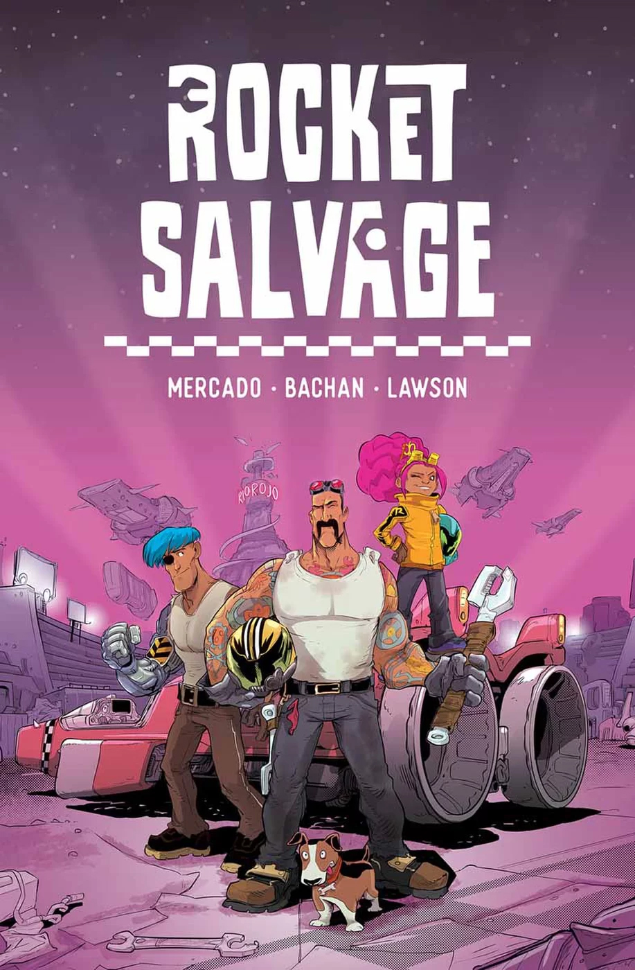 ROCKET SALVAGE GN VOL 01