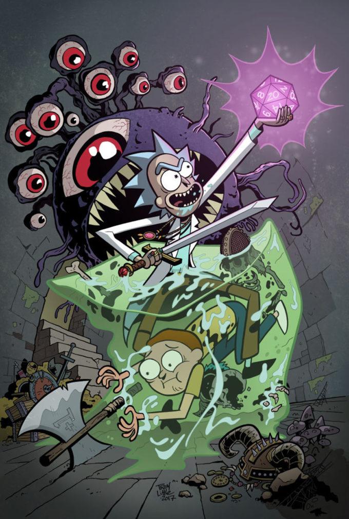 RICK & MORTY VS DUNGEONS & DRAGONS #1