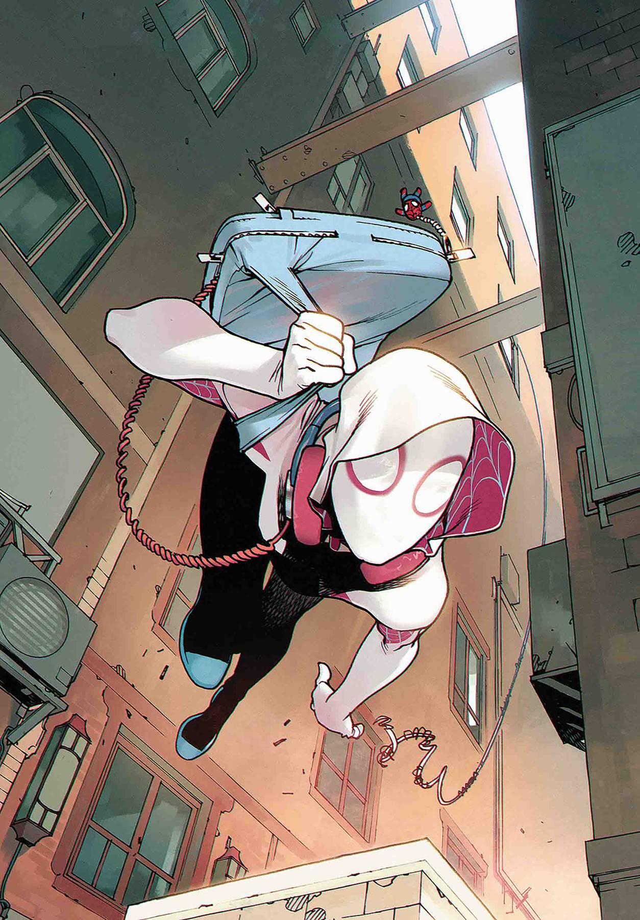 SPIDER-GWEN A.K.A. GHOST SPIDER #1