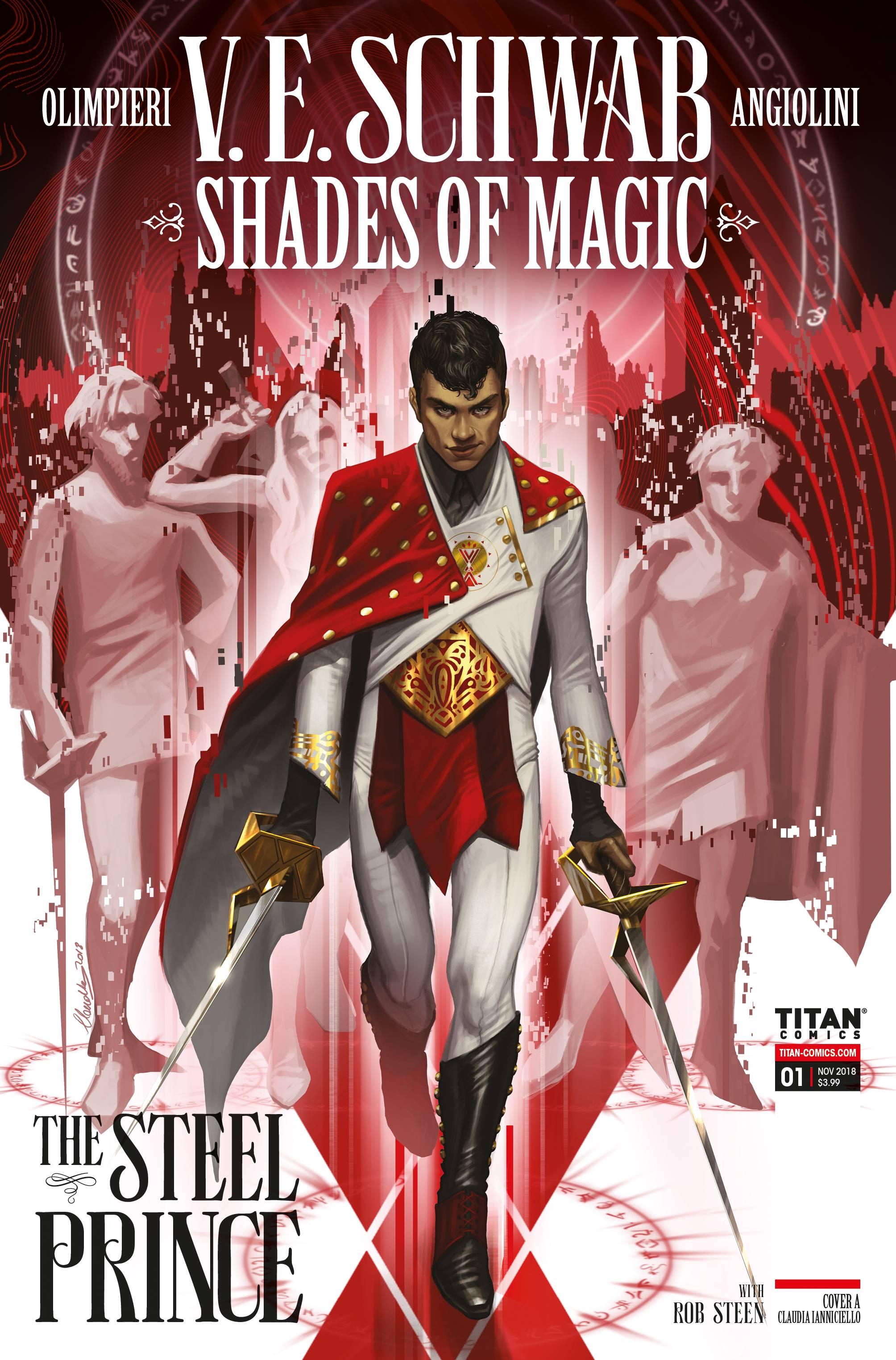 SHADES OF MAGIC #1 (OF 4)