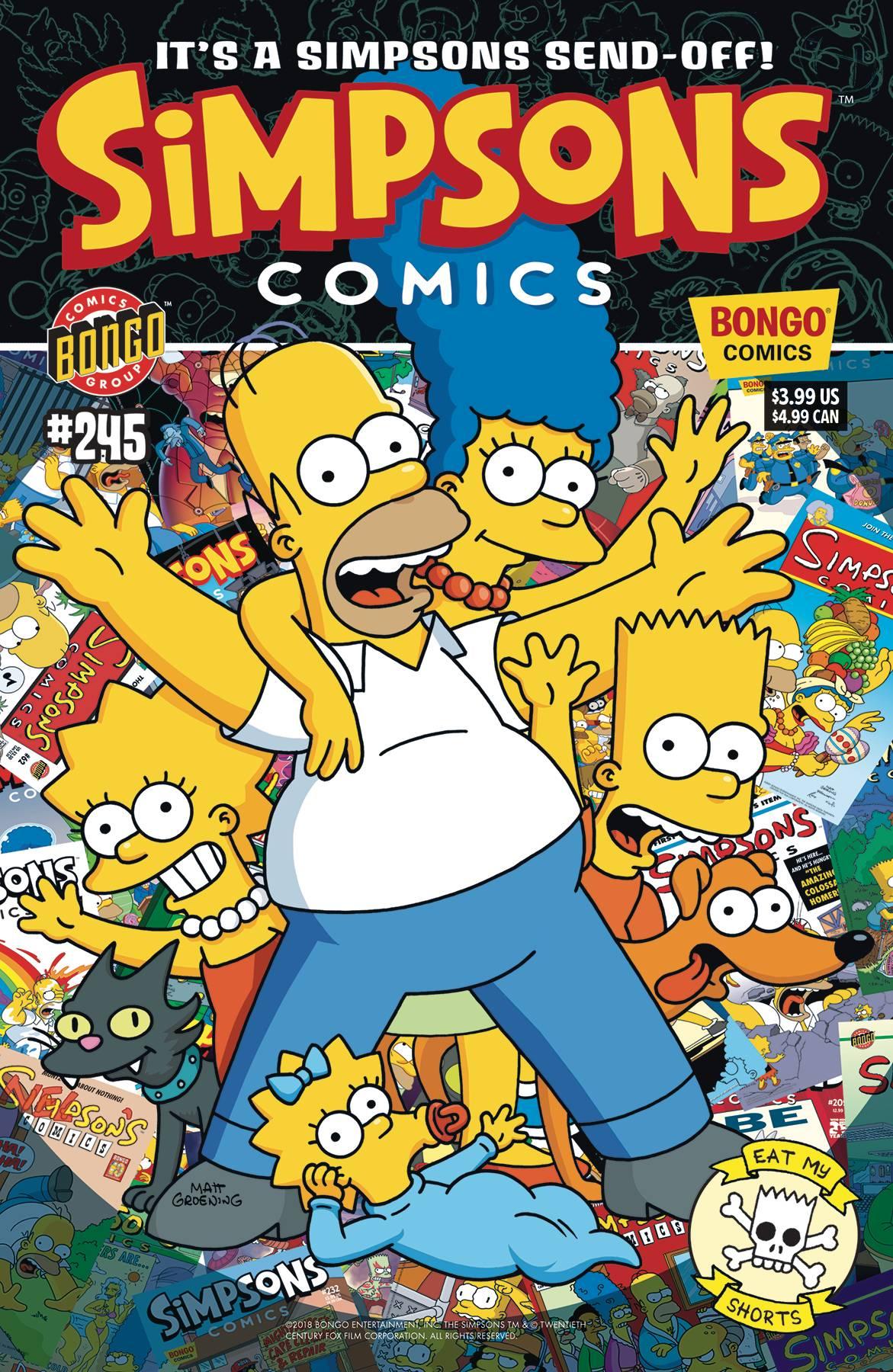 SIMPSONS COMICS #245